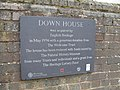 Plaque outside Darwin's home, Down House - geograph.org.uk - 1847281.jpg