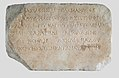 Plaque with Greek dedication to Isis, Serapis and Apollo by Komon for the benefit of Ptolemy IV and V MET 89.2.652q.jpg