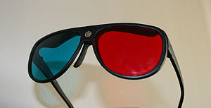Anaglyph 3D - Anachrome optical diopter glasses