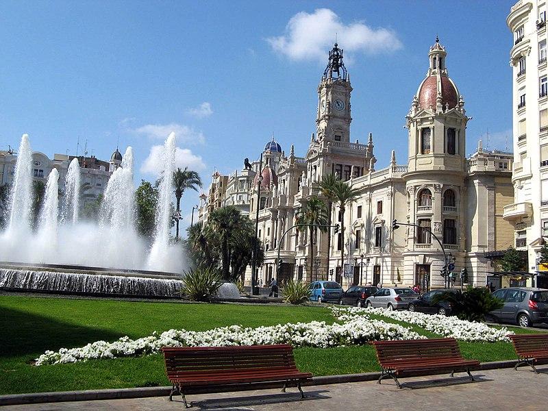 File:Plaza del Ayuntamiento de Valencia.JPG