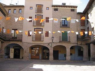 Borja, Zaragoza - Image: Plazaborja