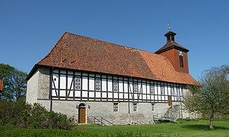 Pöhlde Abbey - Pöhlde church