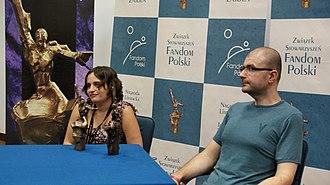 Janusz A. Zajdel Award - 2011 winners: Jacek Dukaj and Anna Kańtoch