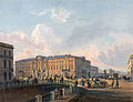 Police bridge in St. Petersburg in the 19th century.jpg
