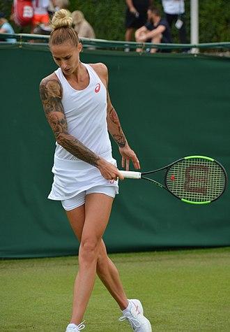 Polona Hercog - Hercog at the 2017 Wimbledon Championships