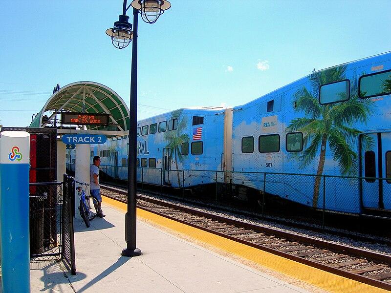 Pompano Beach Tri Rail Station