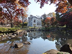 Pond in the Ikeda-shi Garden-1.jpg