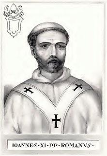Pope John XI pope