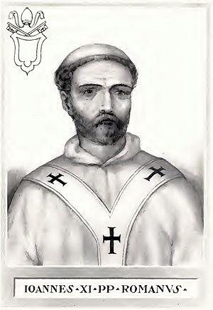 Pope John XI - Image: Pope John XI