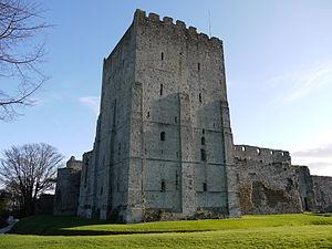 Portchester Castle - Portchester Castle's keep