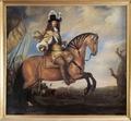 Porträtt. Ryttarporträtt. Carl Gustaf Wrangel till häst. Klöcker Ehrenstrahl - Skoklosters slott - 73494.tif