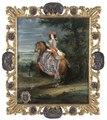 Porträtt. Ryttarporträtt. Madame La Duchesse De Bouillon - Skoklosters slott - 39539.tif