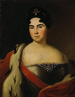 Portrait-of-Catherine-I (1710s)