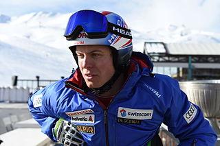 Ralph Weber Swiss alpine skier
