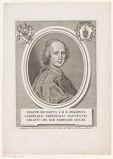 Giuseppe Renato Imperiali Italian cardinal