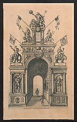 Portugese triomfboog (voorzijde)