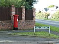 Post Box at The Crescent, Walton on the Hill - geograph.org.uk - 1022933.jpg