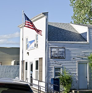 Arnegard, North Dakota - Arnegard Post Office
