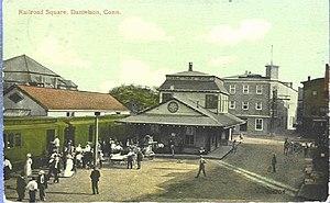 Danielson, Connecticut - Image: Postcard Danielson Square 1918