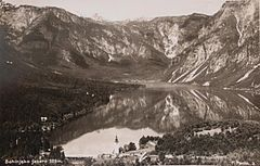 Postcard of Lake Bohinj 1920s.jpg