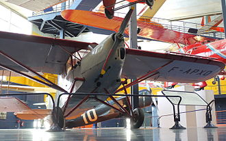 Potez 43 - The Potez 43 at Musée de l'Air et de l'Espace.