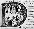 Practice of Exorcism in 9th century. Wellcome M0009274.jpg