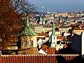 Prag – Blick vom Hradschin - Pohled z Pražského hradu - panoramio.jpg