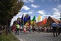 Praha, Prague Pride, čelo průvodu III.jpg