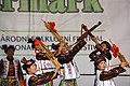 Praha, Staré Město, Ovocný trh, Pražský Jarmark, čínské tance a hudba.JPG
