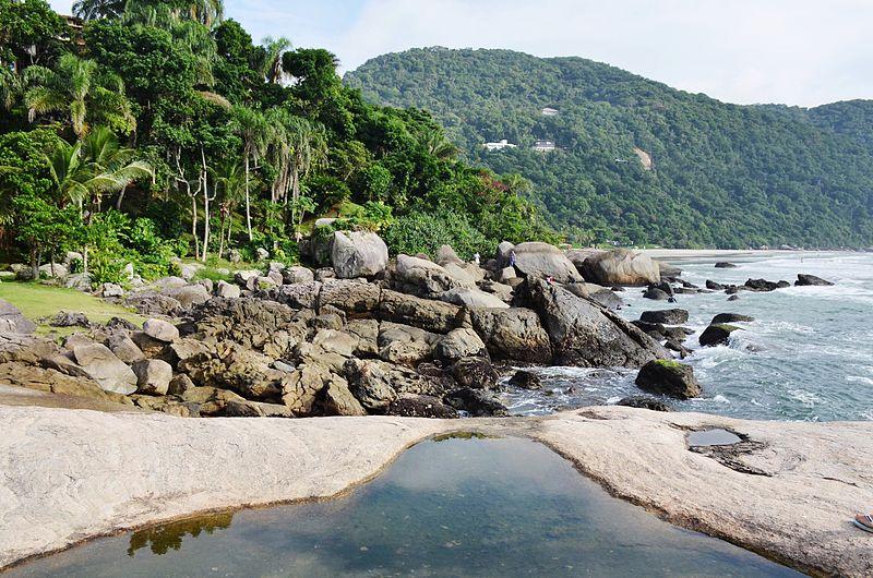 Lugares românticos no litoral sul de SP