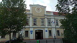 The Bihor County Prefecture building from the interwar period used until 1920.
