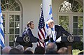 President Donald J. Trump shakes hands with Greek Prime Minister Alexis Tsipras at their joint press conference in the Rose Garden at the White House, Tuesday, October 17, 2017, in Washington, D.C.jpg