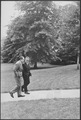 President Nixon walking with Kissinger on south lawn of the White House - NARA - 194731.tif