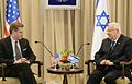 President Reuven Rivlin with Mike Turner. April 1, 2015. I.jpg