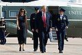 President Trump and Mrs. Trump Depart for Ohio and Texas (48480648481).jpg