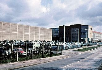 Pressed Steel Company - The Swindon pressing plant in 1967