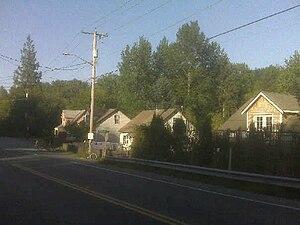 Preston, Washington - Typical houses in Preston, WA