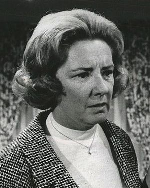 Priscilla Morrill - as Lou Grant's wife in The Mary Tyler Moore Show, 1974.
