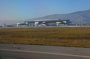 Pristina International Airport - Apron view