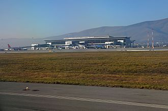 Pristina International Airport - Apron view