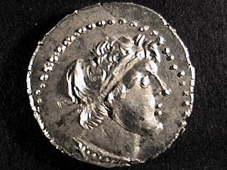 Ptolemy VIII - silver didrachma - líc