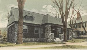 Walpole, New Hampshire - Image: Public Library, Walpole, NH