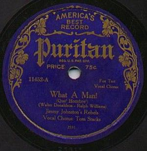 Puritan Records - Image: Puritan Record