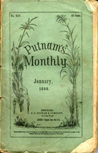 Putnam's Magazine - Number 25, January 1855 (Vol. 5, No. 1)