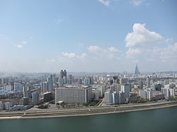 Pyongyang western view April 2010.jpg