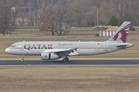 A7-AHT - A320 - Qatar Airways