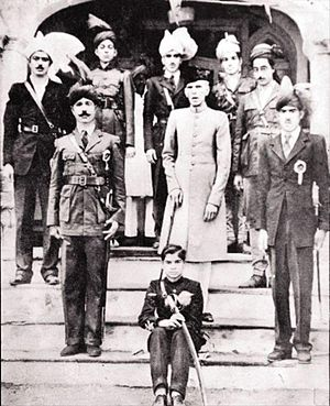 Faisalabad - Mohammed Ali Jinnah, in Lyallpur where he gave an historic speech at Dhobi Ghat, circa 1943