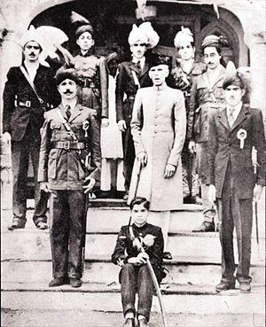 Faisalabad - Mohammed Ali Jinnah, in Lyallpur where he gave an historic speech at Dhobi Ghat, circa 1943