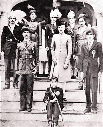 Faisalabad - Mohammed Ali Jinnah, in Lyallpur where he gave a historic speech at Dhobi Ghat, c. 1943