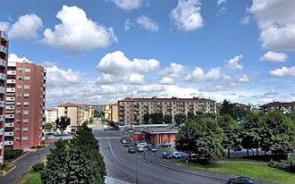Zone 8 of Milan - The quarter of Quarto Oggiaro